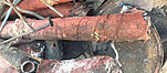 The corroded piping system replaced by Flexalen PB-1 piping