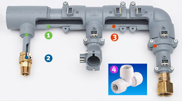polybutene piping fittings jointing methods available georg fischer