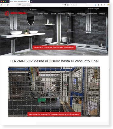 New Website for Nueva Terrain