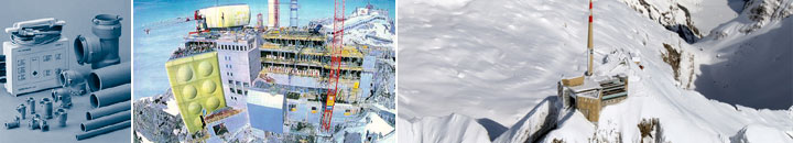 Polybutene PB-1 piping systems installation in freezing conditions at Säntis 2000