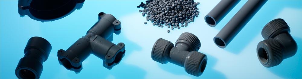 Polybutene piping plumbing fittings pipe push-fit electrofusion