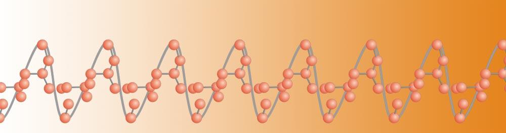 Polybutene PB-1 long string polyolefin molecule orange