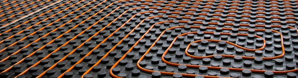 Flexible and efficient Polybutene underfloor heating systems