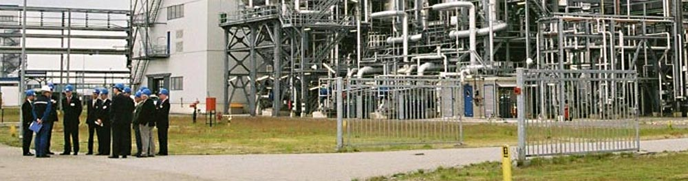 The world's largest polybutene plant at Moerdijk, The Netherlands