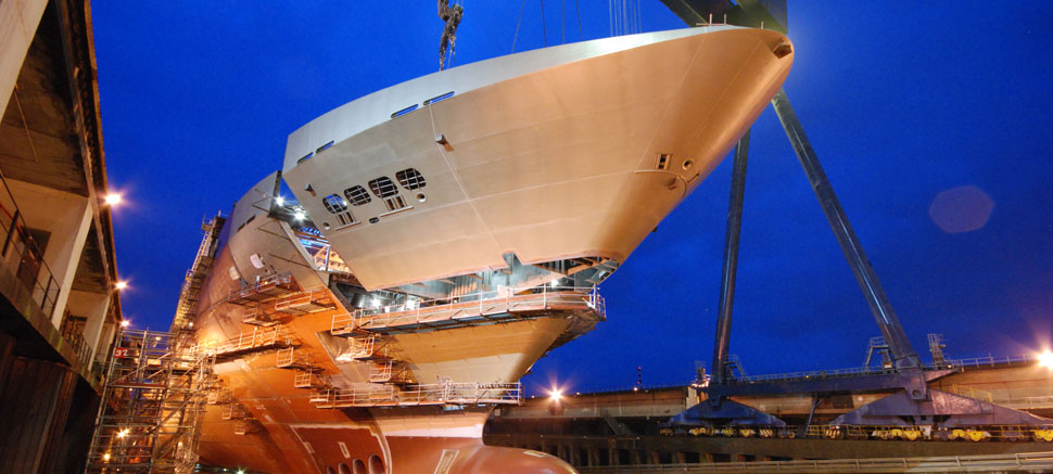 STX France has ordered corrosion-free PB-1 piping systems to equip three new cruise liners. Manufact