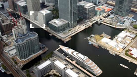 A Polybutene underfloor piping system was chosen to heat the Canary Wharf Wintergarden complex.