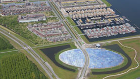 A ground-breaking District Energy network was created for Almere, The Netherlands using Flexalen Polybutene piping systems from Thermaflex.