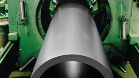 Polybutene piping extrusion process allowing huge scope in pipe wall sections and diameters